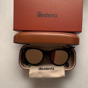 Illesteva Greenport Mirrored-lens Sunglasses